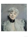 Portrait of the Countess De Martel De Janville, Known as Gyp (1850-1932), 1894 Giclee Print by Giovanni Boldini