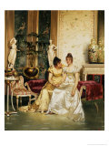 A Shared Confidence Giclee Print by Joseph Frederic Charles Soulacroix