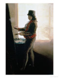 Self Portrait in the Studio Giclee Print by Francisco de Goya