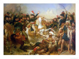 The Battle of the Pyramids, 21st July 1798 Giclee Print by Antoine-Jean Gros