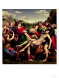 The Entombment, 1507 Reproduction proc&#233;d&#233; gicl&#233;e par Raphael 
