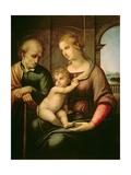 The Holy Family, 1506 Reproduction procédé giclée par  Raphael