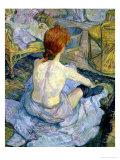 Woman at Her Toilet, 1896 Giclee-trykk av Henri de Toulouse-Lautrec