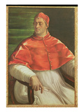 Pope Clement VII (1478-1534) c.1526 Giclée-tryk af Sebastiano del Piombo