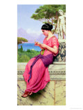 Le Billet Doux, 1913 Impresso gicle por John William Godward