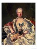 Princess Ekaterina Golitsyna (1720-91) 1759 Giclee Print by Louis-Michel van Loo