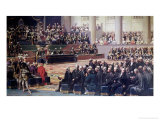 Opening of the Estates General at Versailles on 5th May 1789, 1839 Giclee Print by Louis Charles Auguste Couder