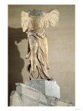 The Victory of Samothrace (Parian Marble) Giclee Print