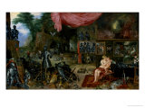 The Sense of Touch Giclee Print by Jan Brueghel the Elder
