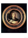 Self Portrait at the Mirror Giclee Print by Parmigianino