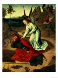 Elijah Visited by an Angel from the Altarpiece of the Last Supper, 1464-68 Giclee Print by Dieric Bouts