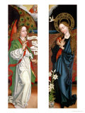 Annunciation Giclee Print by Martin Schongauer