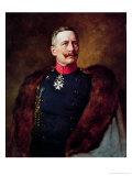 Portrait of Kaiser Wilhelm II (1859-1941) Giclee Print by Bruno Heinrich Strassberger