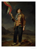 The Singer Chenard, as a Sans-Culotte, 1792 Giclee Print by Louis Leopold Boilly
