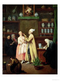 The Pharmacist Giclee Print by Pietro Longhi
