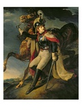 The Wounded Cuirassier, 1814 (Oil on Canvas) Giclee Print by Theodore Gericault
