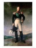 Alexander I of Russia Giclee Print by Francois Gerard