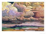 Skyscape, 1912 Giclee Print by Nikolai Konstantinovich Rerikh