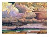 Skyscape, 1912 Giclee Print by Nikolai Konstantinovich Rerikh
