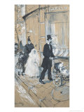 First Communion Day, 1888 Giclee Print by Henri de Toulouse-Lautrec