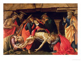 Lamentation of Christ. circa 1490 Giclee Print by Sandro Botticelli