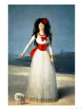 The Duchess of Alba, 1795 Premium Giclee Print by Francisco de Goya