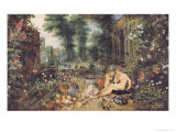 The Sense of Smell Giclee Print by Jan Brueghel the Elder