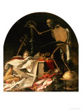 Allegory of Death: in Ictu Oculi Gicl&#233;e-Druck von Juan de Valdes Leal