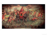 Hannibal Crossing the Alps Giclee Print by Jacopo Ripanda