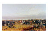 The Waterloo Cup Coursing Meeting Giclee Print by Richard Ansdell