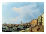 The Riva Degli Schiavoni, 1724-30 Giclee Print by Canaletto 