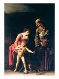 Madonna and Child with a Serpent, 1605 Giclee Print by Caravaggio 