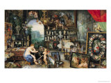 The Sense of Sight, 1617 Giclee Print by Jan Brueghel the Elder