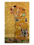Gustav Klimt - Fulfillment, Stoclet Frieze, c.1909 Digitálně vytištěná reprodukce