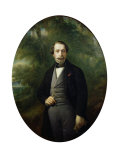 Portrait of Napoleon III (1808-73) circa 1857 Giclee Print by Franz Xavier Winterhalter