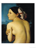 Female Nude, 1807 Giclee Print by Jean-Auguste-Dominique Ingres