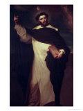 St. Dominic Giclee Print by Don Juan Carreño de Miranda