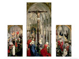 The Altarpiece of the Seven Sacraments, circa 1445-50 Giclee Print by Rogier van der Weyden