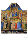 Coronation of the Virgin, circa 1430-32 Gicl&#233;e-Druck von Fra Angelico 