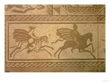 Mosaic Pavements, from the Roman Villa at Lowham, 350 AD Giclee Print
