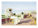 En Vacance Giclee Print by Marie Francois Firmin-Girard