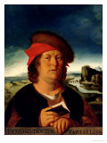 Portrait Presumed to be Paracelsus (1493-1541) Giclee Print by Quentin Metsys