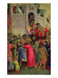 Road to Calvary Giclee Print by Simone Martini