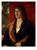 Portrait of Oswolt Krel, 1499 Giclee Print by Albrecht D&#252;rer