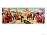 The Triumph of St. George, 1501-7 Gicle-tryk af Vittore Carpaccio