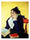 L'Arlesienne (Madame Ginoux), c.1888 Giclée-tryk af Vincent van Gogh