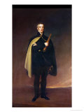 Arthur Wellesley (1769-1852) Duke of Wellington after an Original by Sir Thomas Lawrence Giclee Print by Spiridione Gambardella