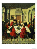 The Last Supper, Central Panel from the Altarpiece of the Last Supper, 1464-68 Giclee Print by Dieric Bouts