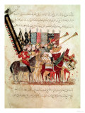 "Celebration of the End of Ramadan, from ""The Maqamat"" (""The Meetings"") Illustrated by Hariri Giclee Print"