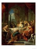 Anthony and Cleopatra Premium Giclee Print by G. Lerouisse